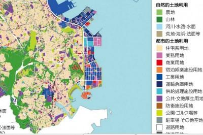 横浜市 土地利用の現況 « しのは...
